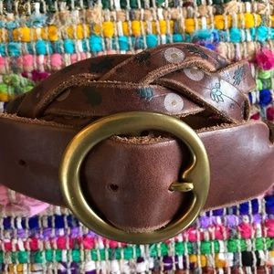 EUC Lucky Brand Braided Belt